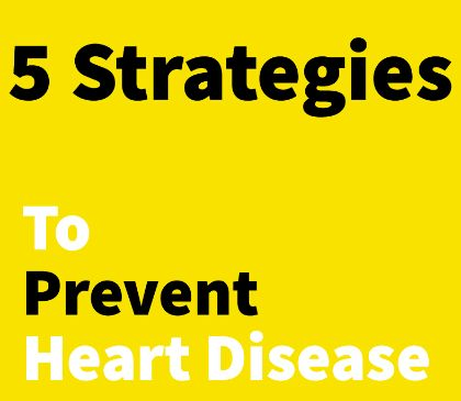 Tips for preventing heart disease