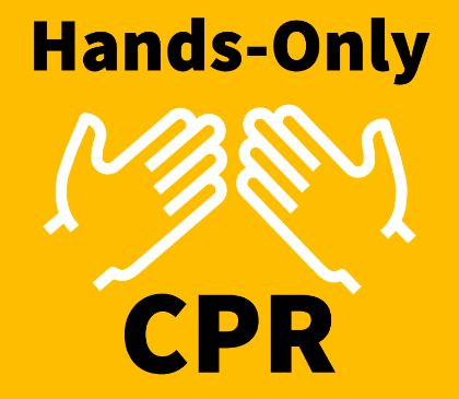 Performing hands-only CPR