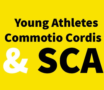 Commotio cordis risk in young athletes