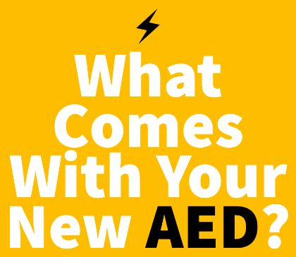 Purchasing a new AED