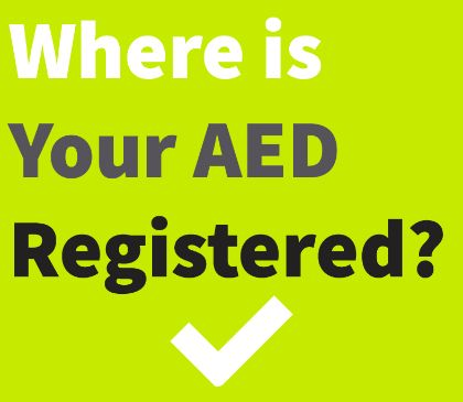 Why you need to register your AED