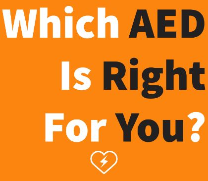 Things to consider when purchasing an AED
