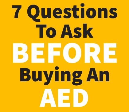 Things to know when purchasing an AED