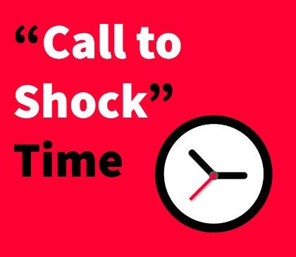 """""""Call to Shock"""" time"""