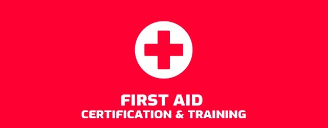 First Aid Certification & Training