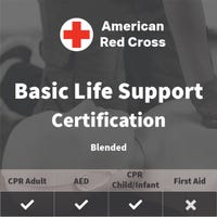 BLS Healthcare Provider Certification (Blended) - American Red Cross