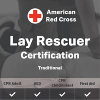 Adult, Child, Infant First Aid/CPR/AED Certification - American Red Cross