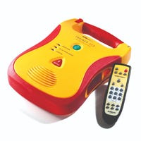 defibtech aed trainer with remote