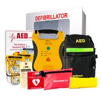 Defibtech Lifeline AED Healthcare Package