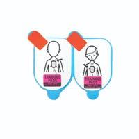 Defibtech Lifeline Pediatric Training Pads (1 set)