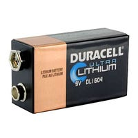 9-volt lithium battery