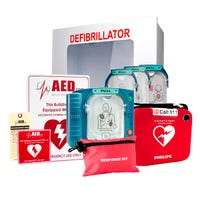 Philips HeartStart OnSite AED Healthcare Package (Recertified)