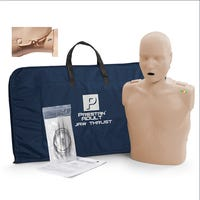 Prestan Professional Adult Jaw Thrust Manikin with CPR Monitor