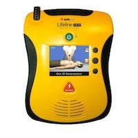 YELLOW AED WITH SCREEN