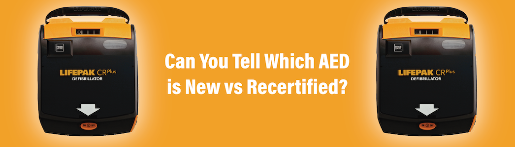 new and Recertified AED differences